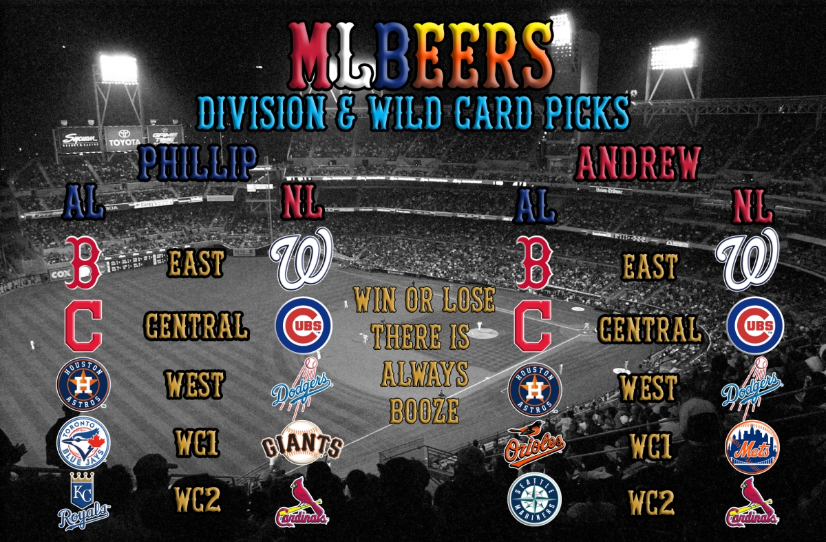 MLBeers Episode 4, Playoffs and World Series.3/29/2017